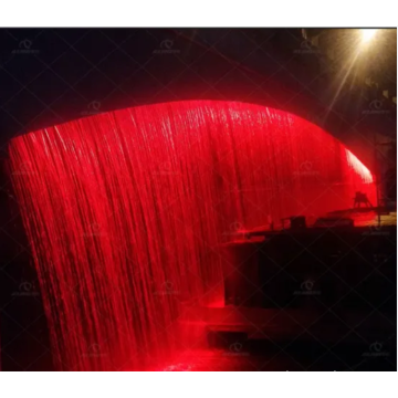 Bridge Digital Wall Mounted Water Fountain Curtain